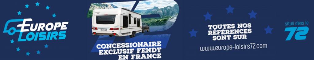 Concessionnaire exclusif Fendt-Caravan à Le Mans, Tours, Angers, Laval, Alençon, Cholet, Blois, Nantes, Rennes, Orléans, Chartres, Caen, Le Havre, Bourges, Châteauroux, Poitiers,...